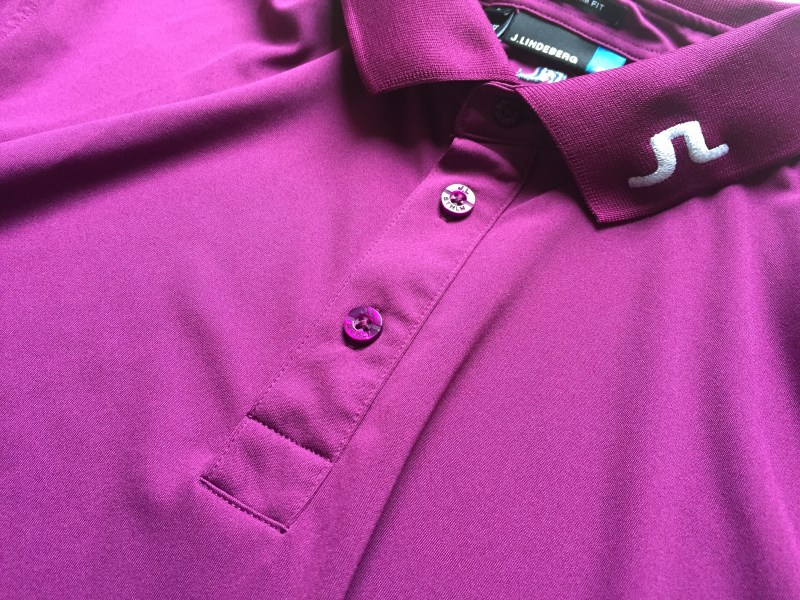 J.Lindeberg Tour Tech TX Plum