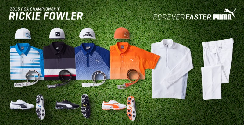 Rickie Fowler 2015 PGA Championship Apparel Script