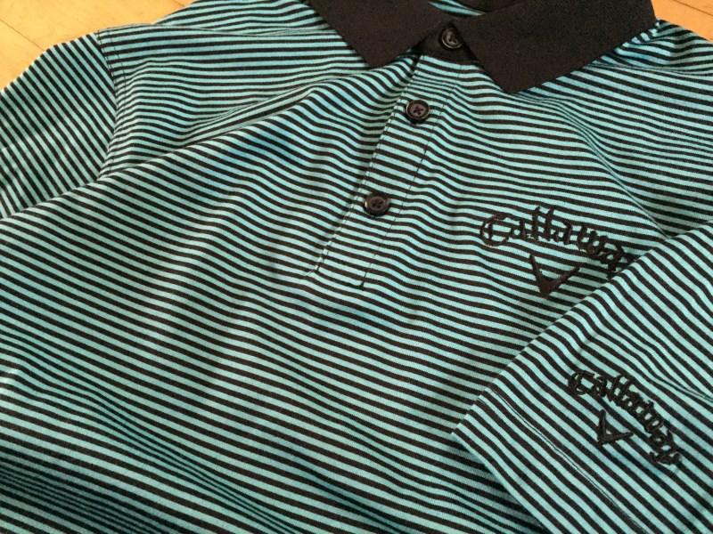 Callaway Golf Opti-Soft Pencil Stripe Polo