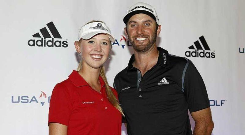 Olympic hopefuls Jessica Korda and Dustin Johnson