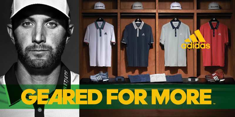 Dustin Johnson's 2016 Masters Apparel Script