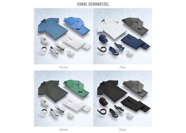 Charl Schwartzel 2016 Masters Apparel Script