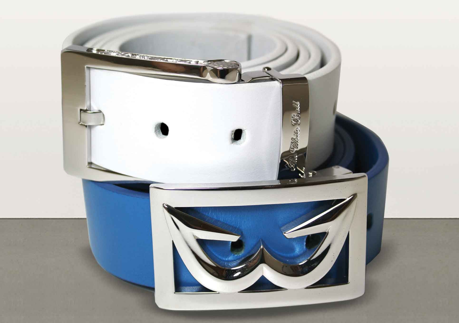 The White Ball Sports ZenR Leather Belt