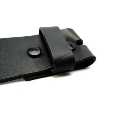 Snap Closure Allows Buckles and Straps to be Easily Interchanged