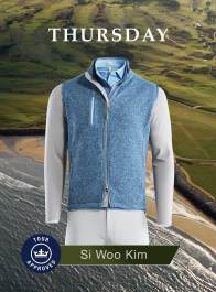 Si Woo Kim 2018 Open Championship Apparel Scripts Thursday
