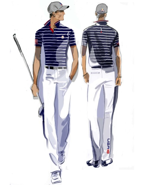 U.S. Ryder Cup Uniforms Friday