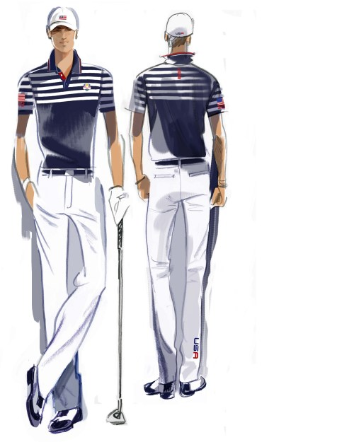 U.S. Ryder Cup Uniforms Wednesday