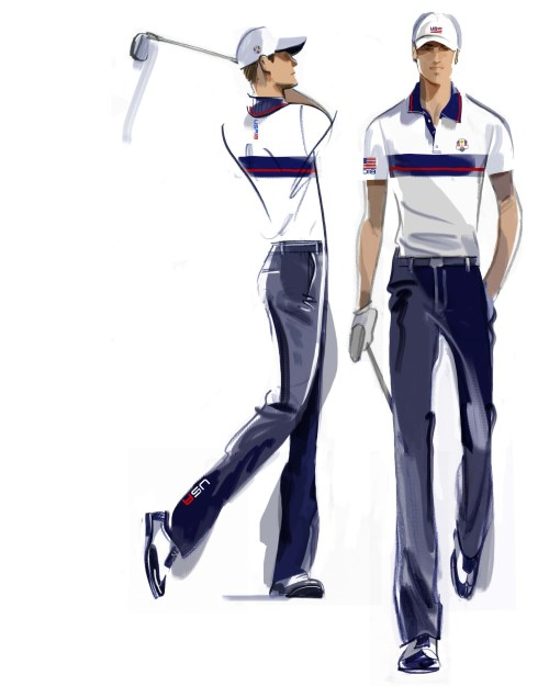 U.S. Ryder Cup Uniforms Tuesday