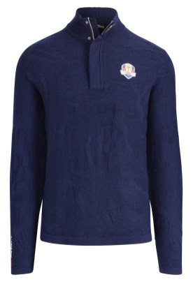 Zip Merino Wool Sweater