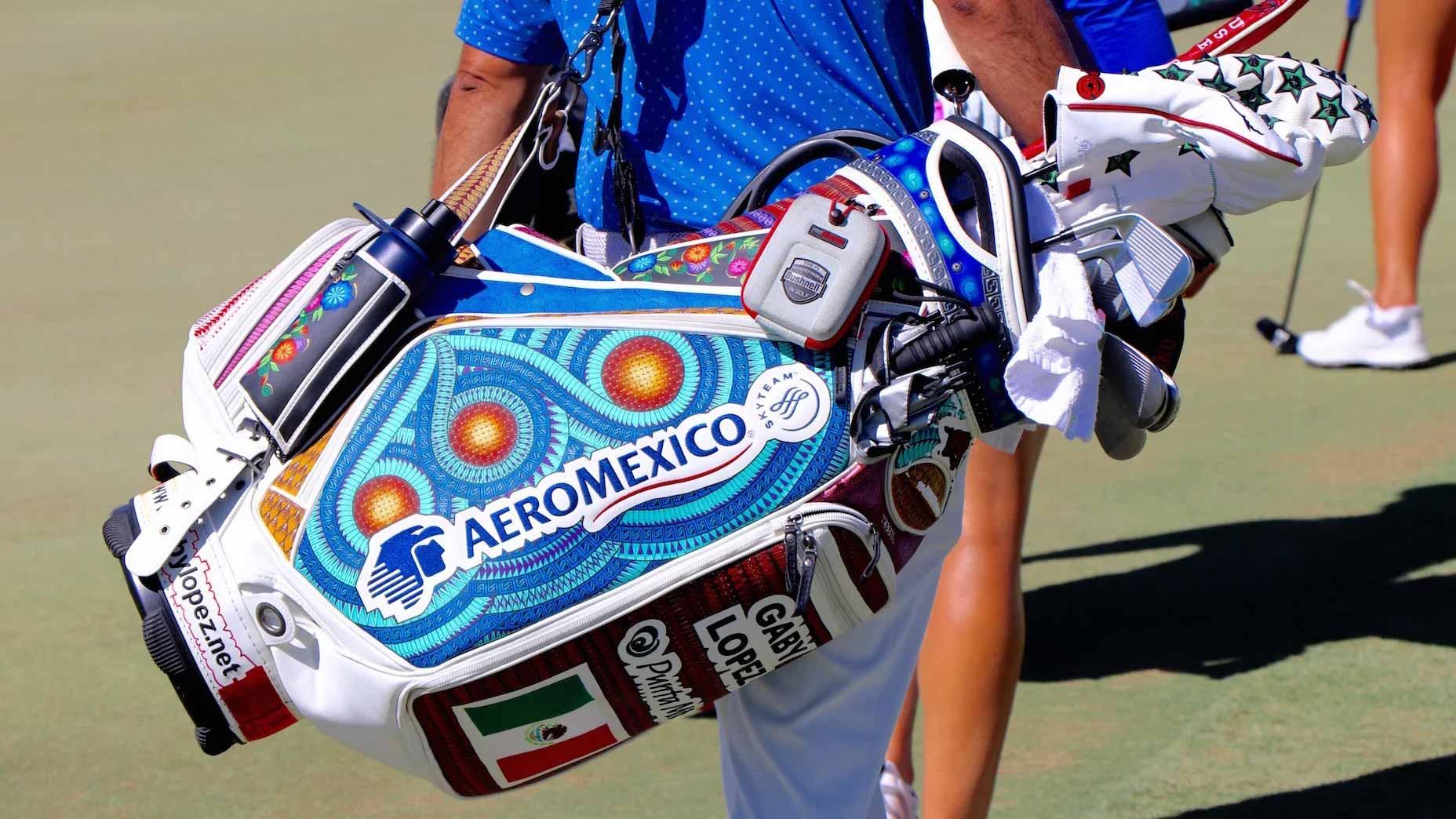 Golf bag at ANA Inspiration