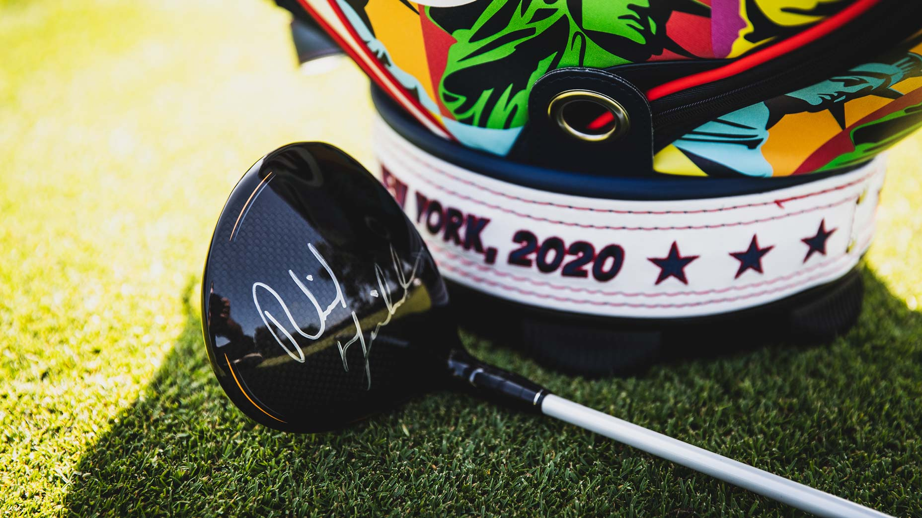 driver signed by phil mickelson