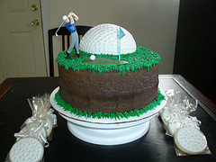 Outstanding Golf Themed Birthday Cakes Golfblogger Golf Blog Funny Birthday Cards Online Aeocydamsfinfo