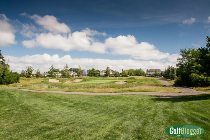 Northville Hills Hole 18 Green