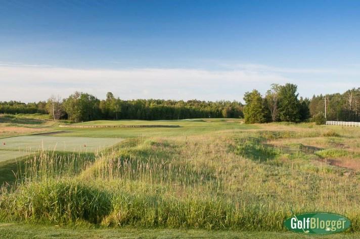 Sweetgrass Hole 1, a 320 yard par 4