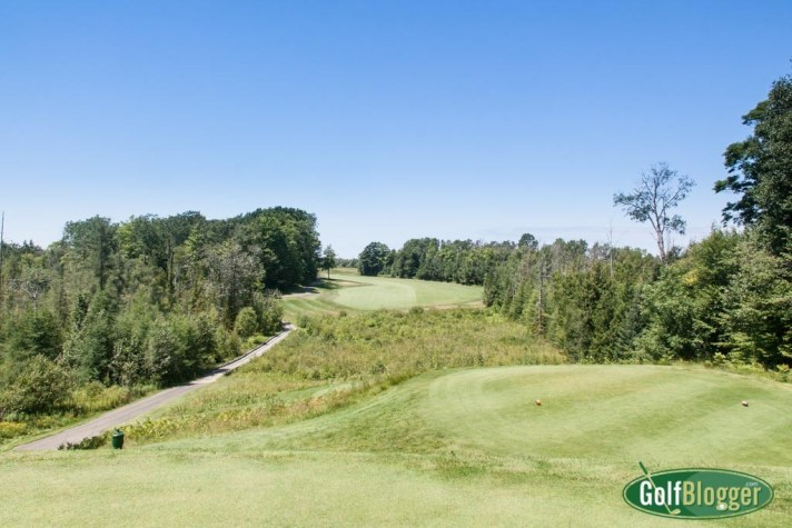 The third at Crooked Tree is a 425 yard par 4