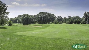 The eighteenth at Forest Akers is a 417 yard par 4.