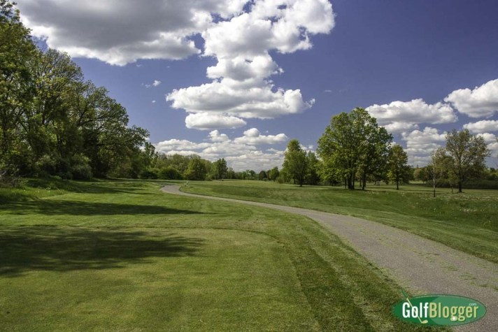 The second at Hudson Mills is a 499 yard par 5