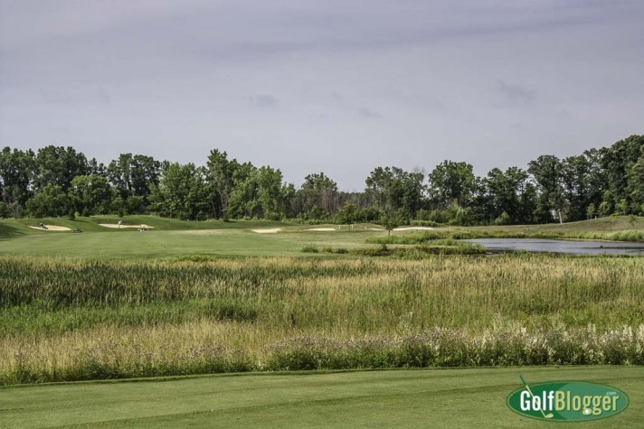 The fourth at Pierce Lake is a 519 yard par 5