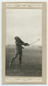 Harry Vardon Cigarette Card 1913