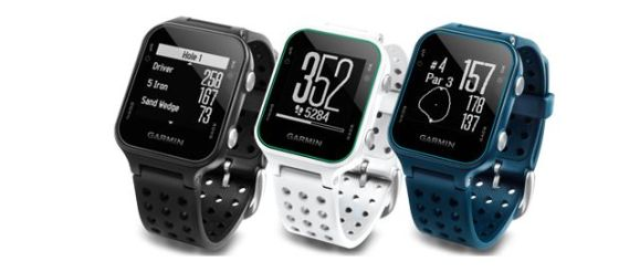 Garmin Approach S20 Golf GPS Watches Come In Three Colors