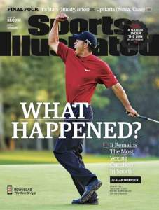 SI Cover- Tiger Woods