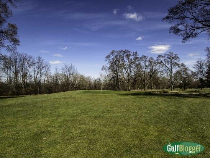 Green Oaks Golf course, Ypsilanti, Michigan, March 21, 2016