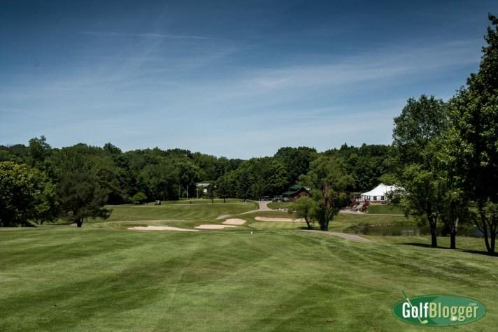 The ninth at Thornapple Creek Golf Course, Kalamazoo, Michigan