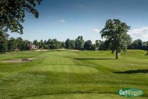 The seventeenth at Oakland Hills South is a 237 yard par 3.