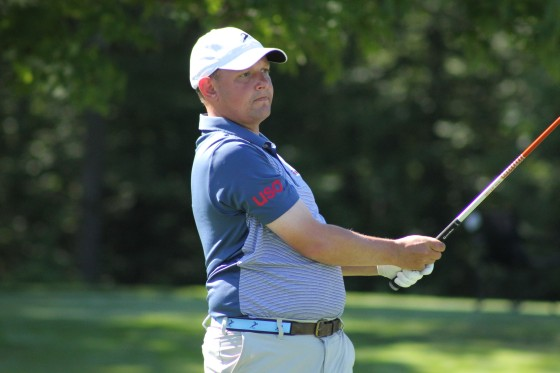John Selzer, leader after two rounds at the 2016 Michigan Tournament of Champions