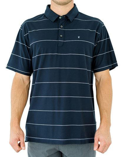 Linksoul Microstripe Knit Polo