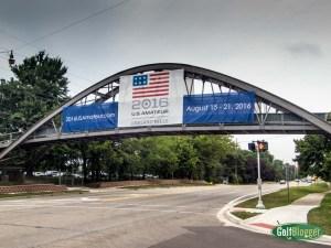 US Amateur Oakland Hills Bridge