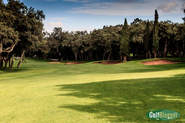 The thirteenth at Royal Golf Dar Essalam is a 355 meter par 4.