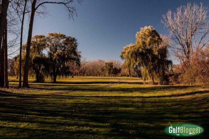 The sixteenth at Green Oaks Golf Course