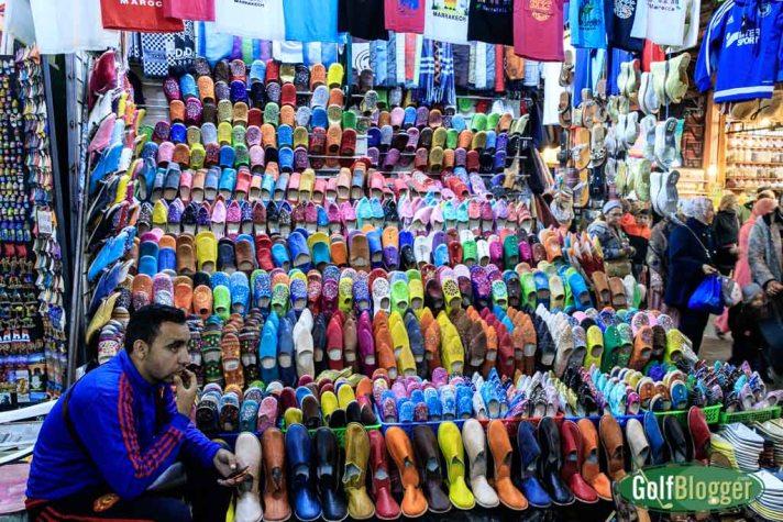 slippers souk Marrakech