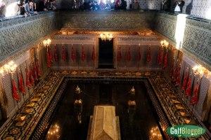 Tomb below the ground level