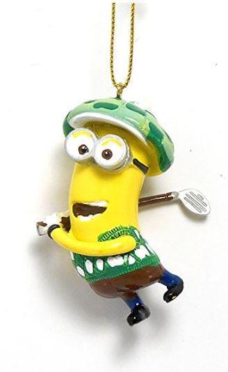 minion golf ornament