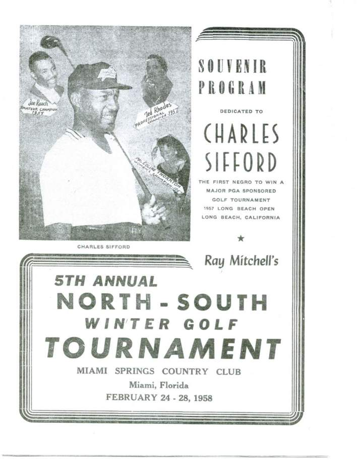 Ray Mitchell's North-South Winter Golf Tournament