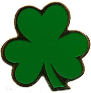 shamrock golf ball marker