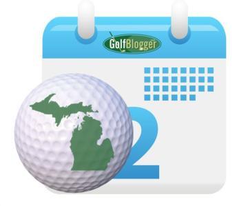 Michigan Golf Calendar