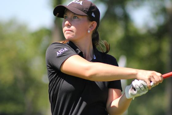 Kerrigan Parks of Flushing Rallies on Back Nine to Win GAM Women's Championship
