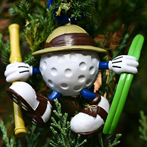 Ridiculous Golf Christmas Tree Ornaments