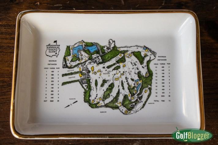 Augusta National Golf Club Porcelain Dish
