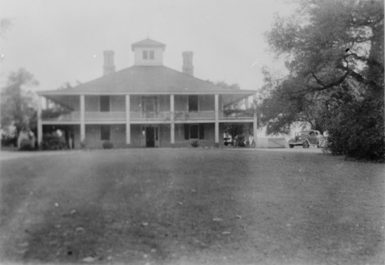 Photos Of The Augusta National Clubhouse In 1937