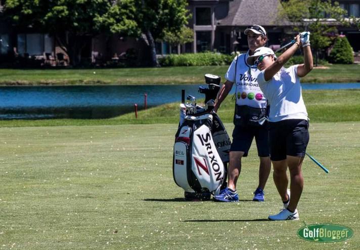 Hataoka Leads After Two At The LPGA Volvik Championship