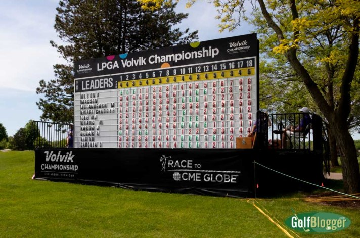 Four Share The Lead After One At LPGA Volvik Championship