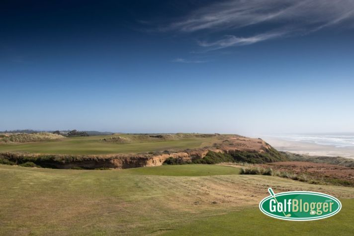 The 16th hole at Bandon Dunes is a spectacular driveable par 4.