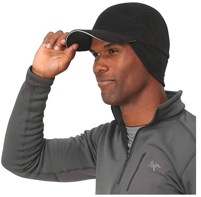 Trailheads Fleece Ball Cap With Ear Warmers