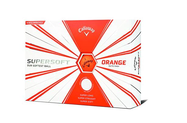 Callaway Supersoft Matte Finish Golf Balls