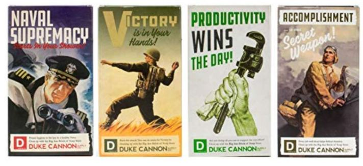 Duke Cannon WWII Big Brick of Soap Collection