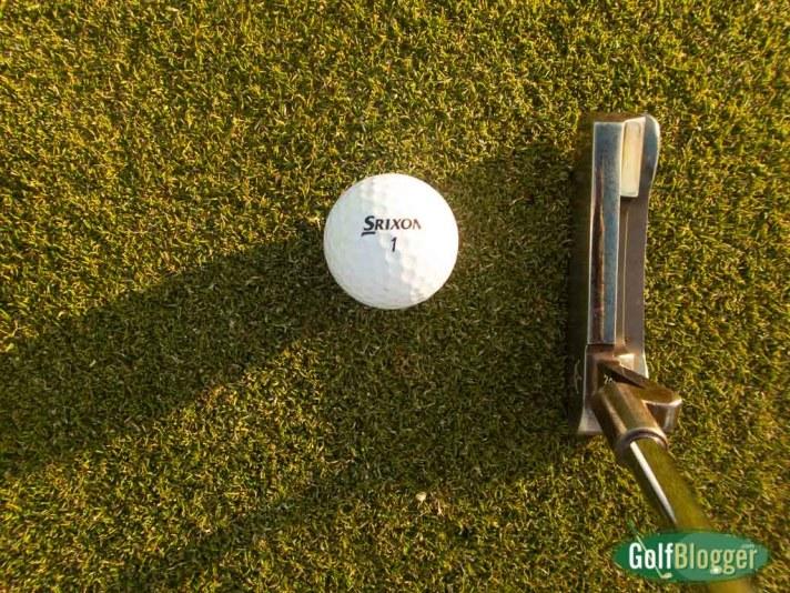 Testing Golf Gear:  Srixon Z-Star Golf Balls.